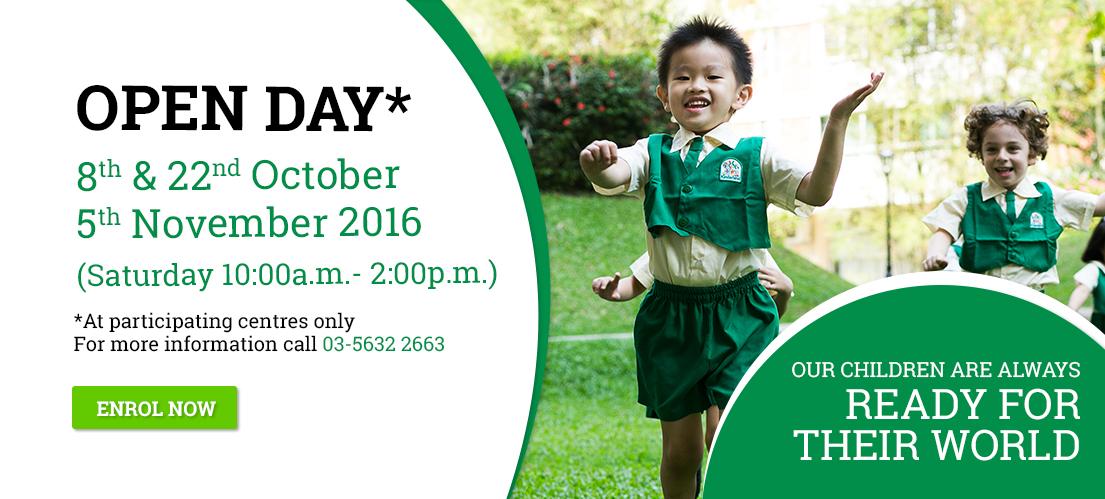 Kinderland Malaysia Open House