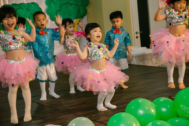 All children participated in the concert.